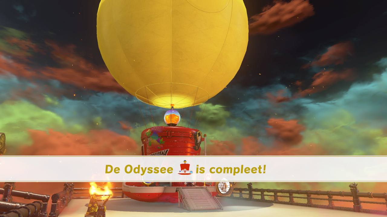 Odyssey completed