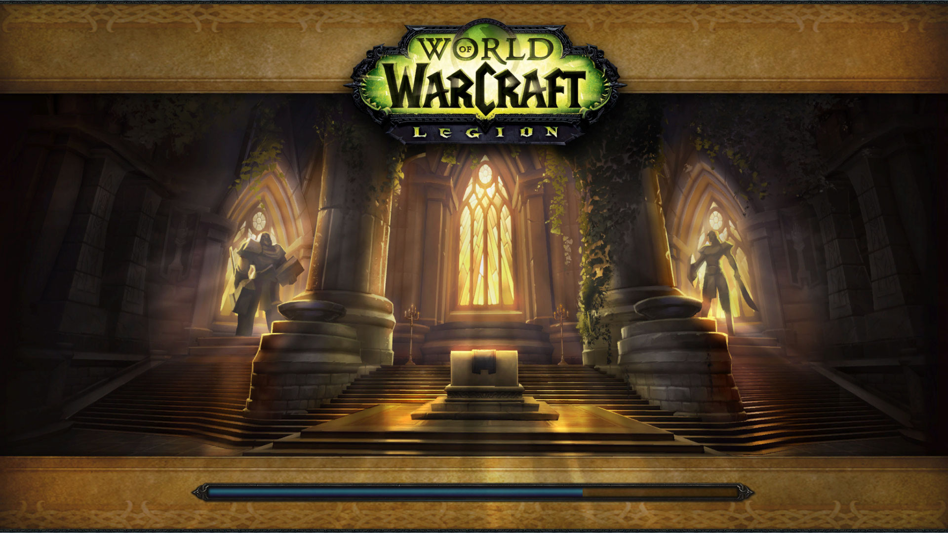 Loading screen Paladin Class Hall