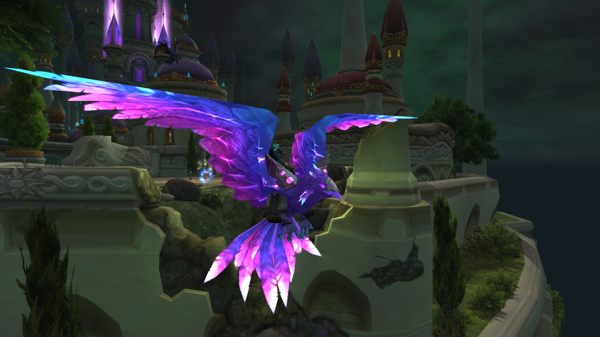 Violet Spellwing