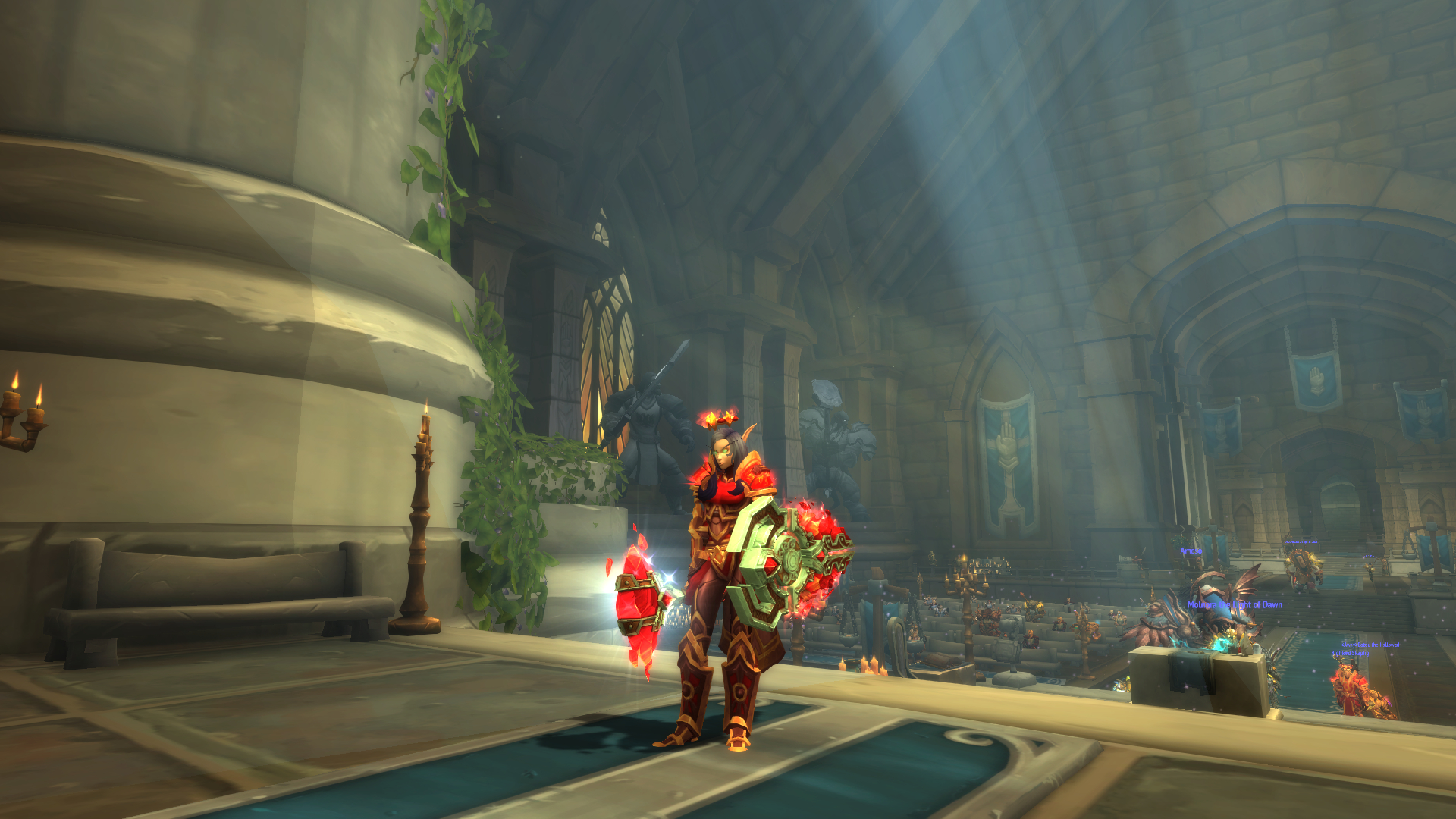 Red shield prot paladin