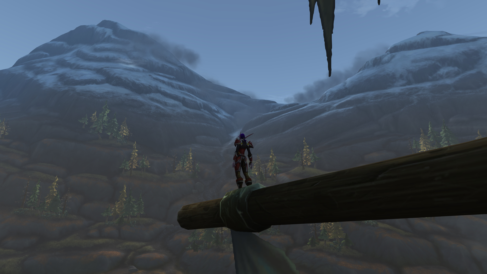 Looking out over Tiragarde Sound