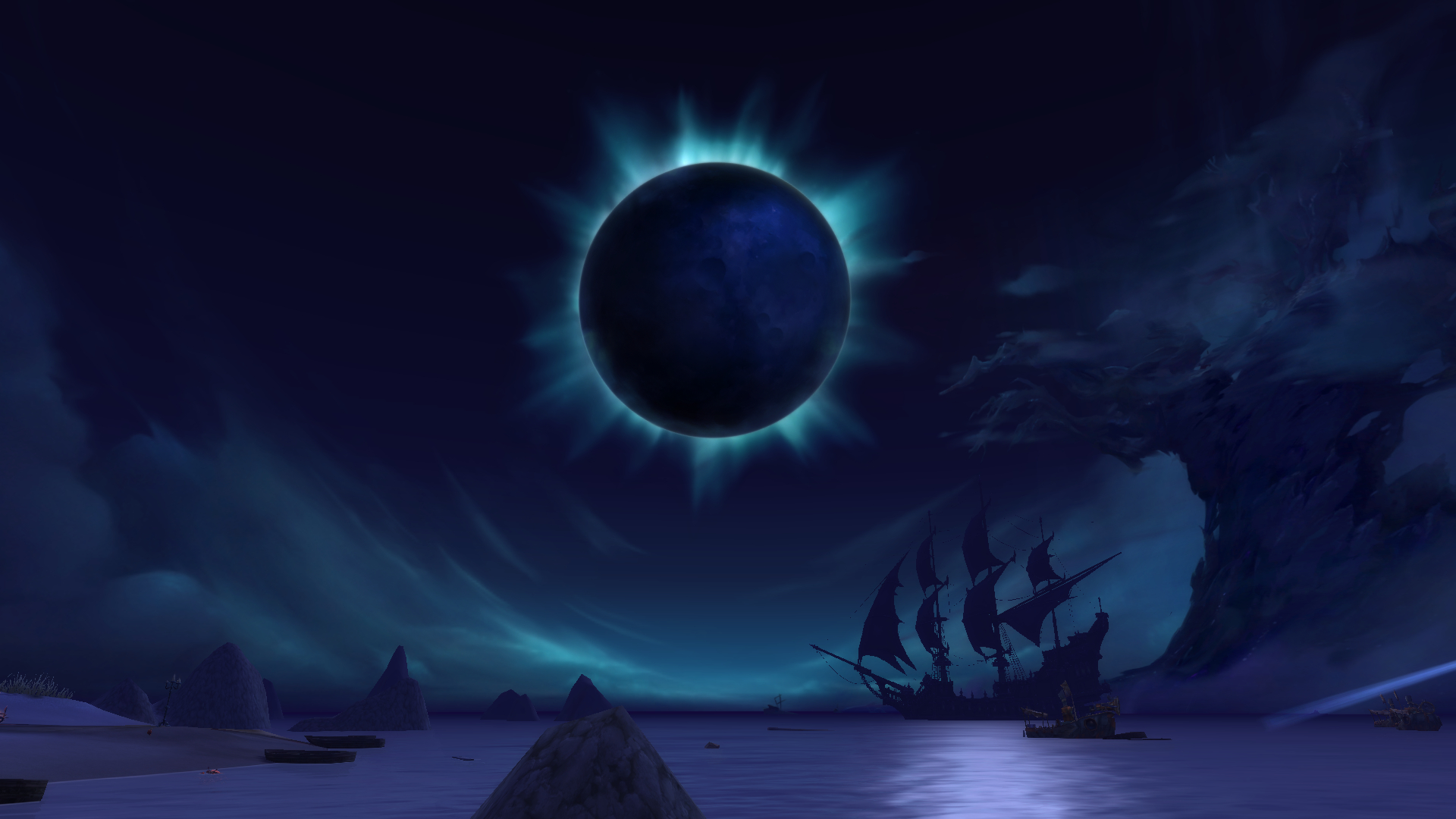 Darkshore black moon