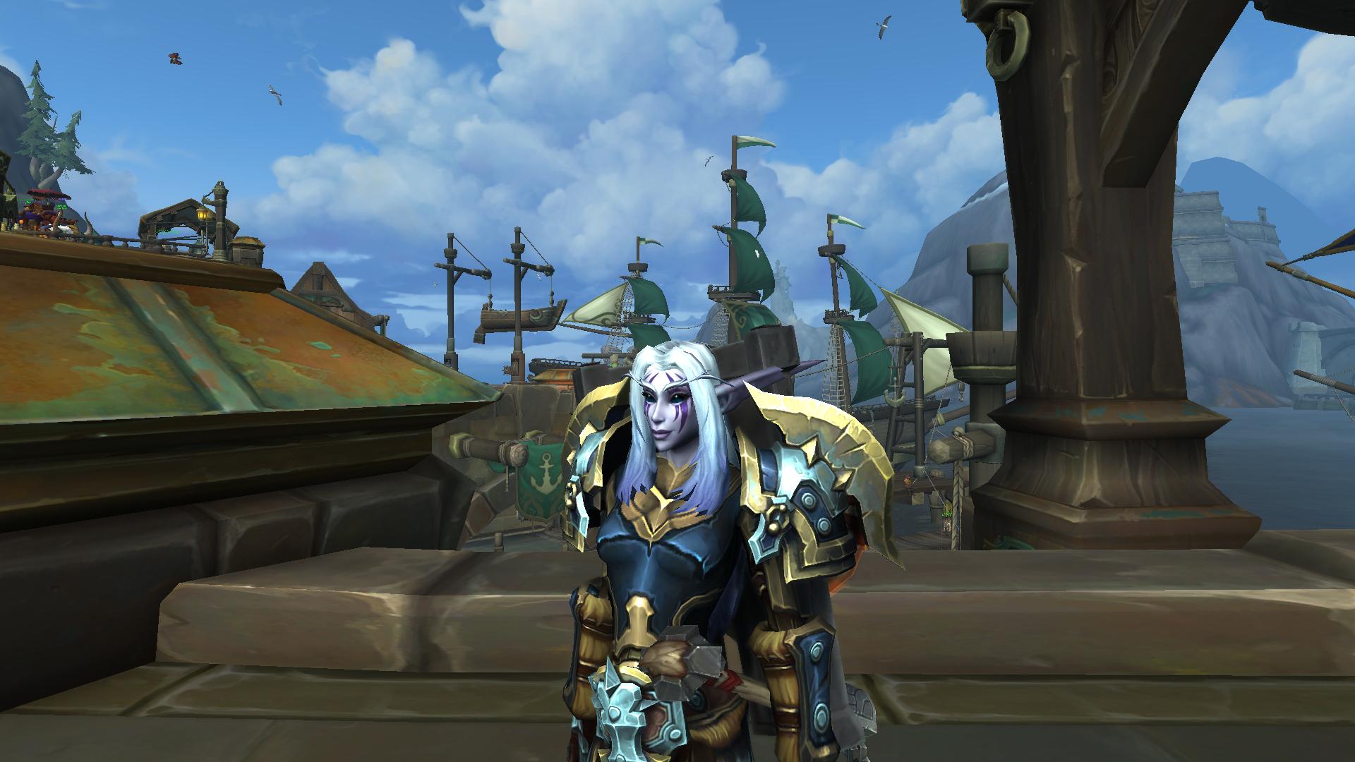 Warrior Aeternus Gaming Lets get the void elf heritage armor and take a look at it on my warlock. aeternus gaming